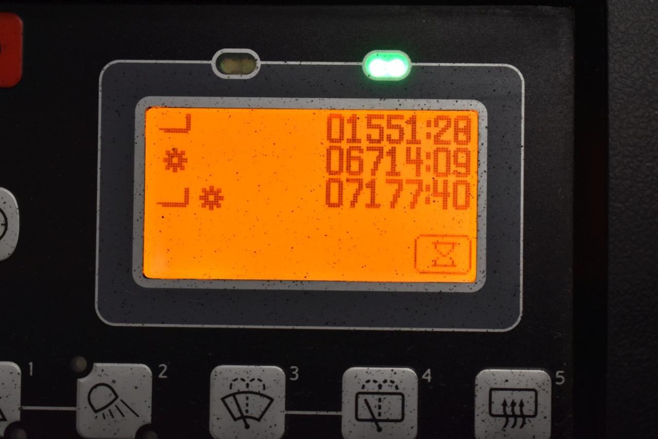 31649 TOYOTA 8FBMT25 - AKU, 2014, BP, Volný zdvih