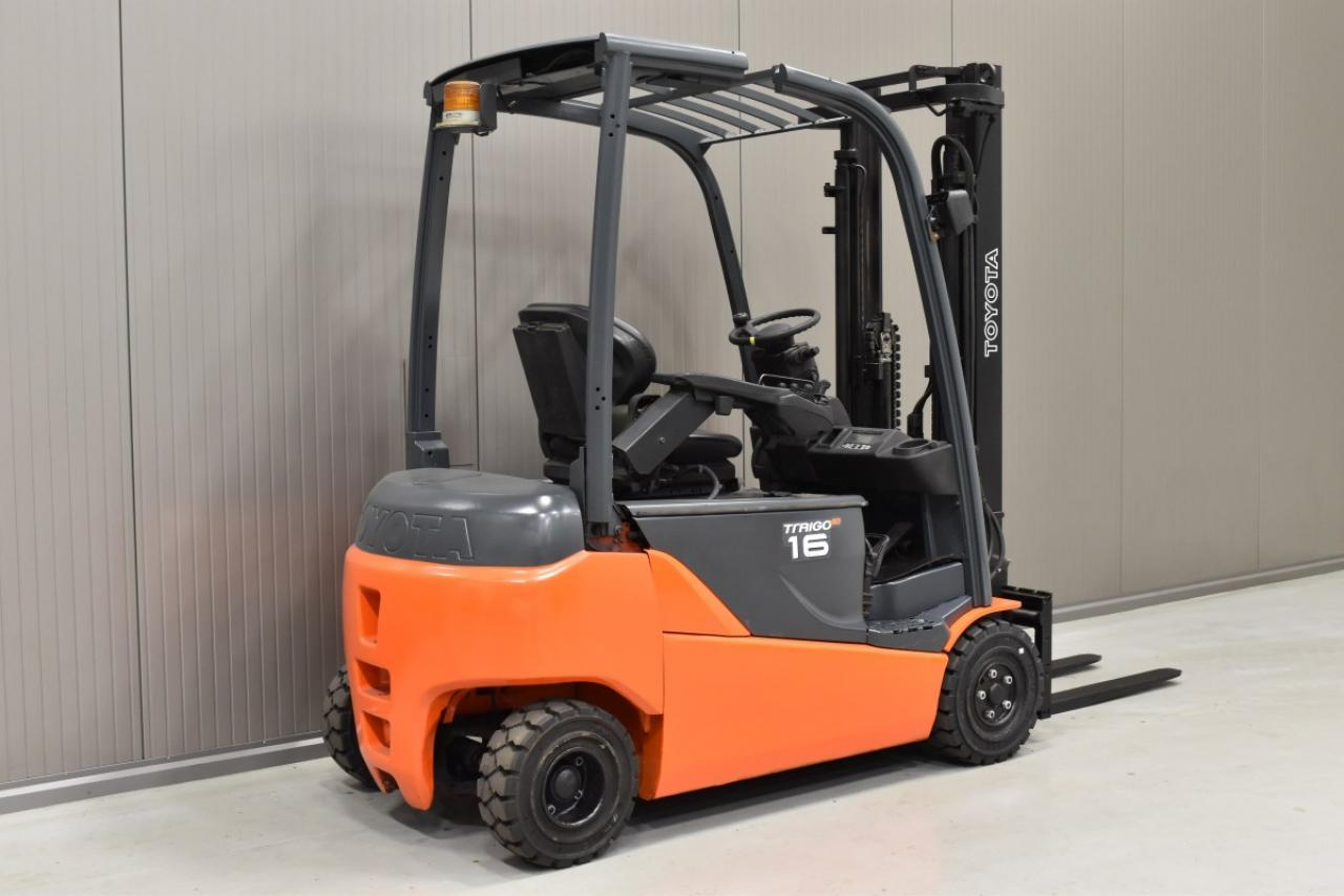 31650 TOYOTA 8FBMT16 - Battery, 2014, SS, Free lift, only 6232 hrs
