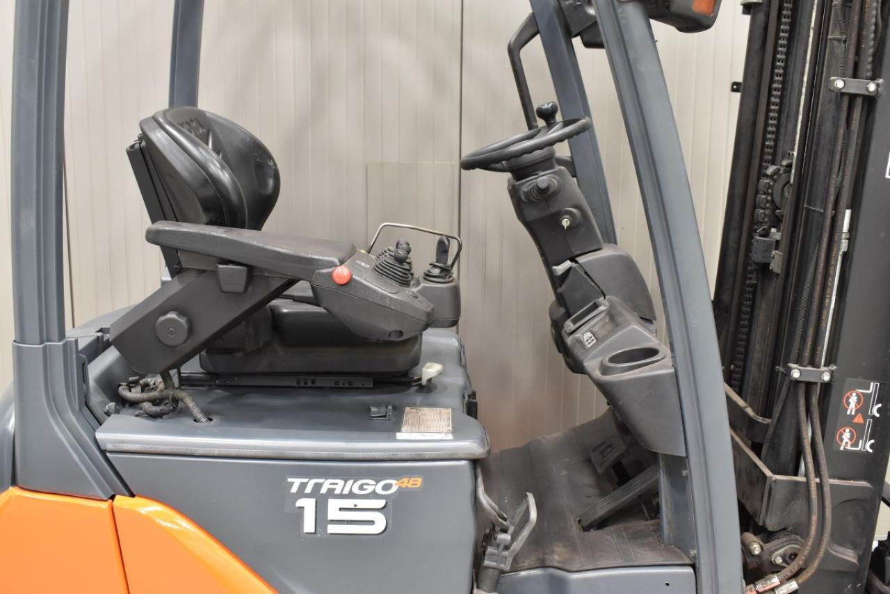 31662 TOYOTA 8FBET15 - Battery, 2013, SS, free lift, TRIPLEX