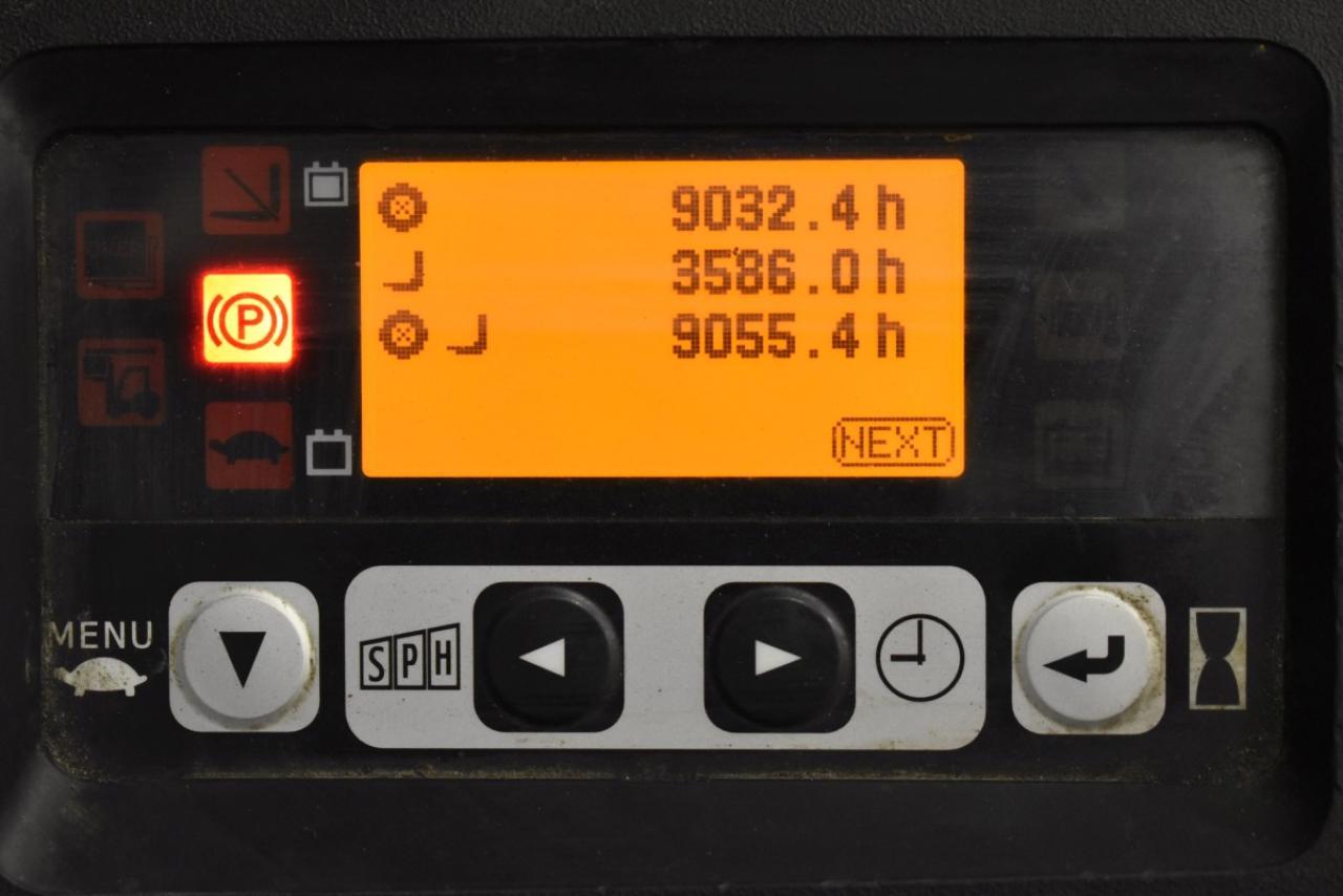 31664 TOYOTA 8FBET15 - AKU, 2013, BP, volný zdvih, Triplex