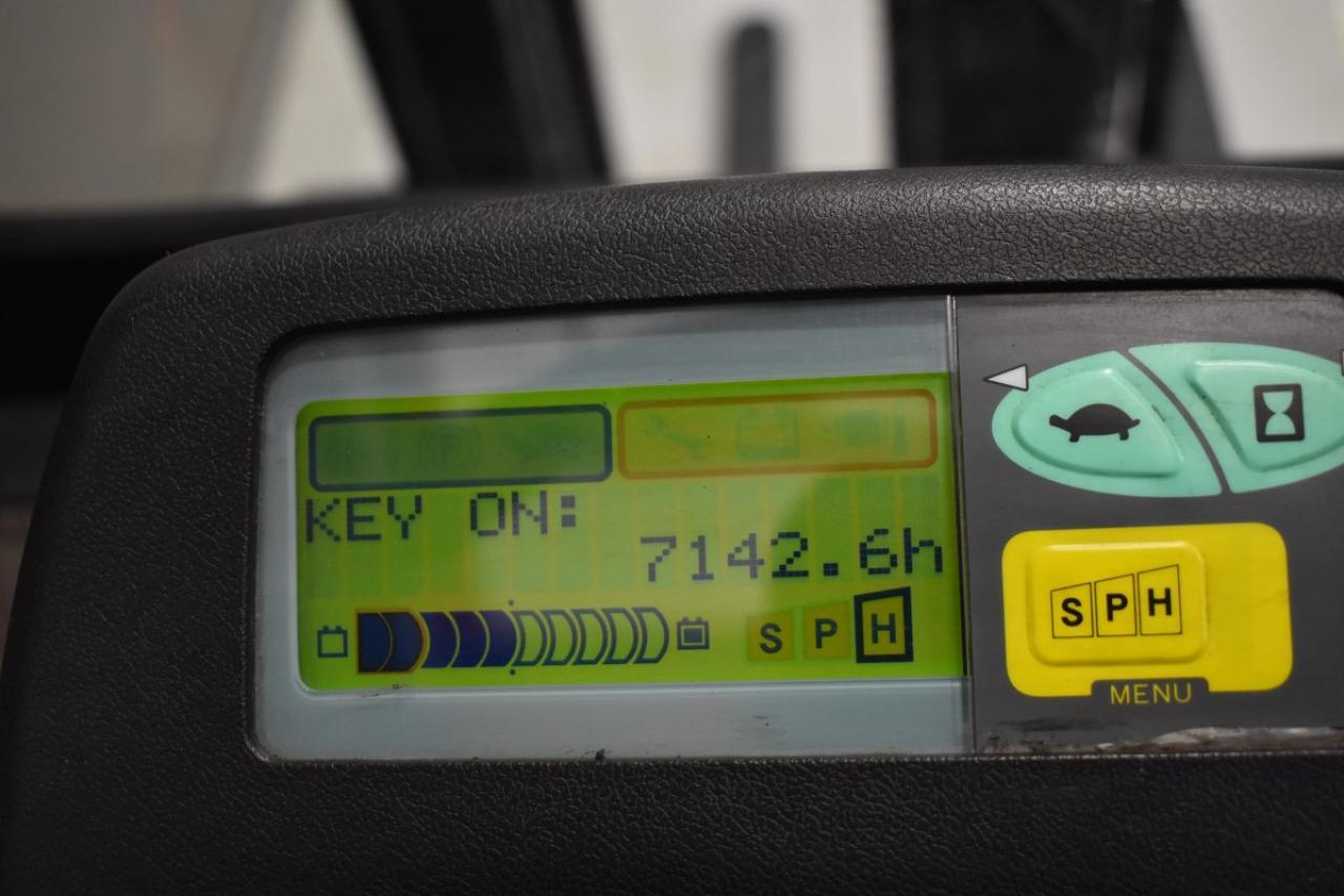 31665 TOYOTA 7FBMF16 - AKU, 2008, BP, Volný zdvih