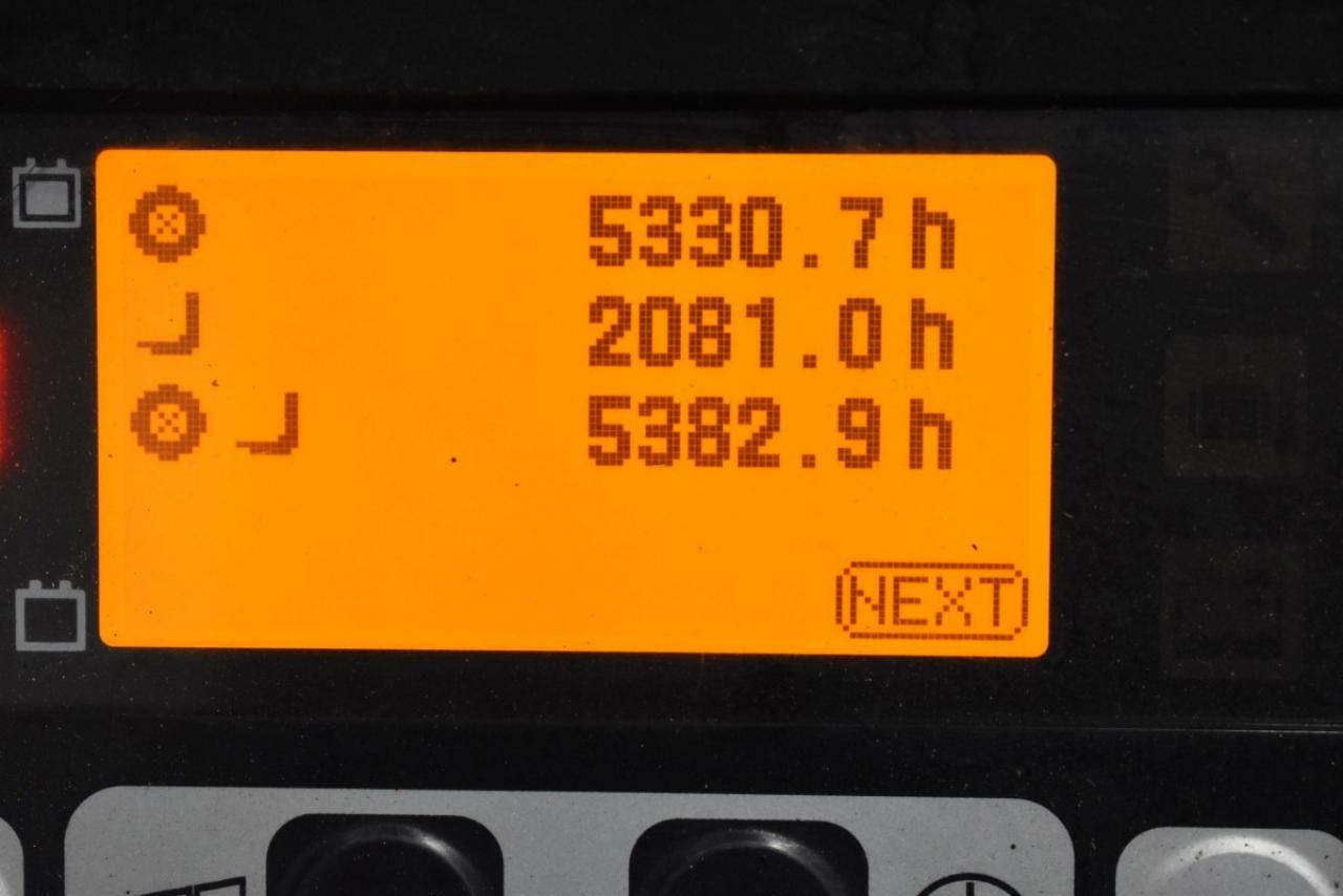 31669 TOYOTA 8FBET15 - AKU, 2011, BP, volný zdvih, Triplex, pouze 5382 mth