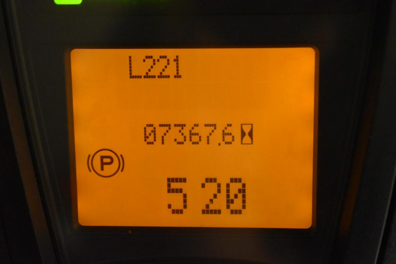 31674 LINDE H 18 D-01 - Diesel, 2010, polokabina, BP, volný zdvih, Triplex
