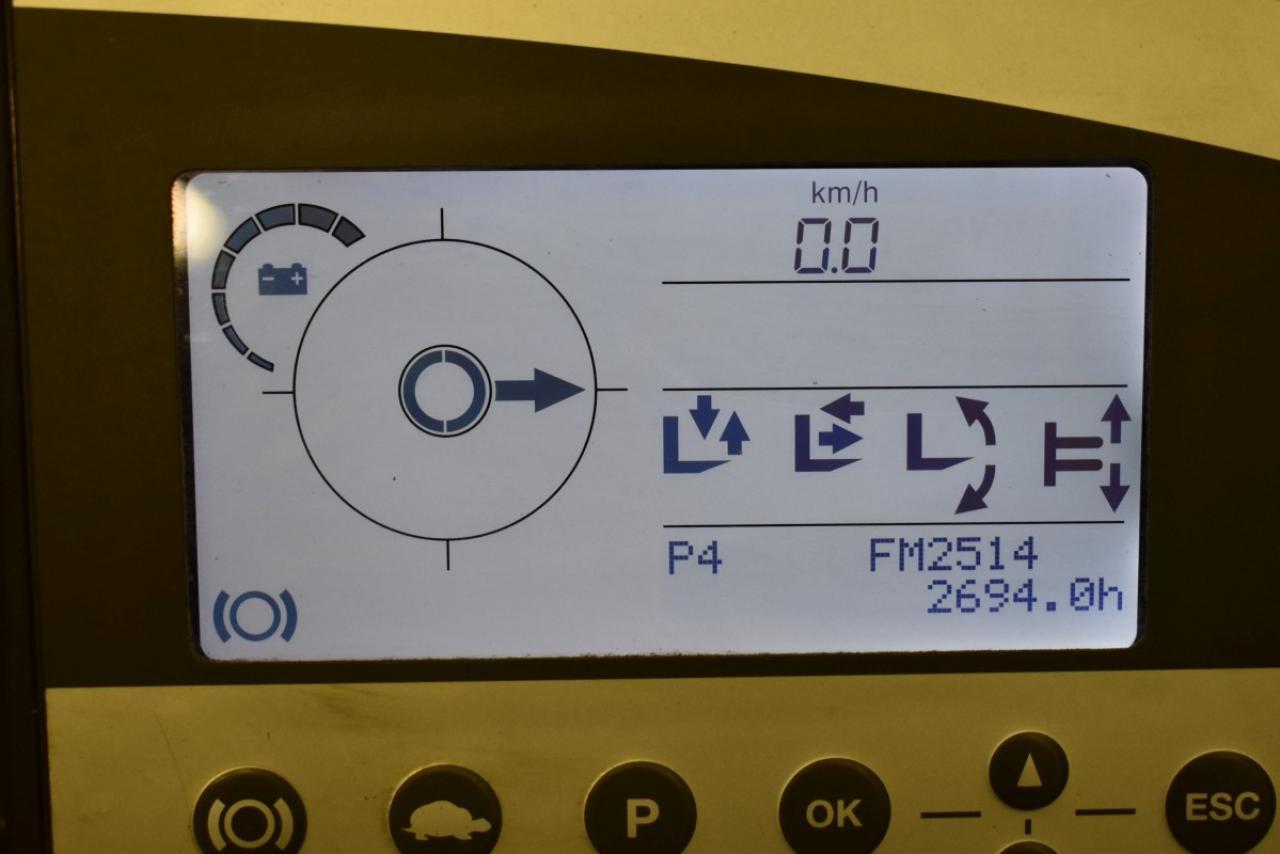 31865 STILL FM-X 12 - AKU, Retrak, 2008, BP, volný zdvih, Triplex, pouze 2694 mth, BAT 2017
