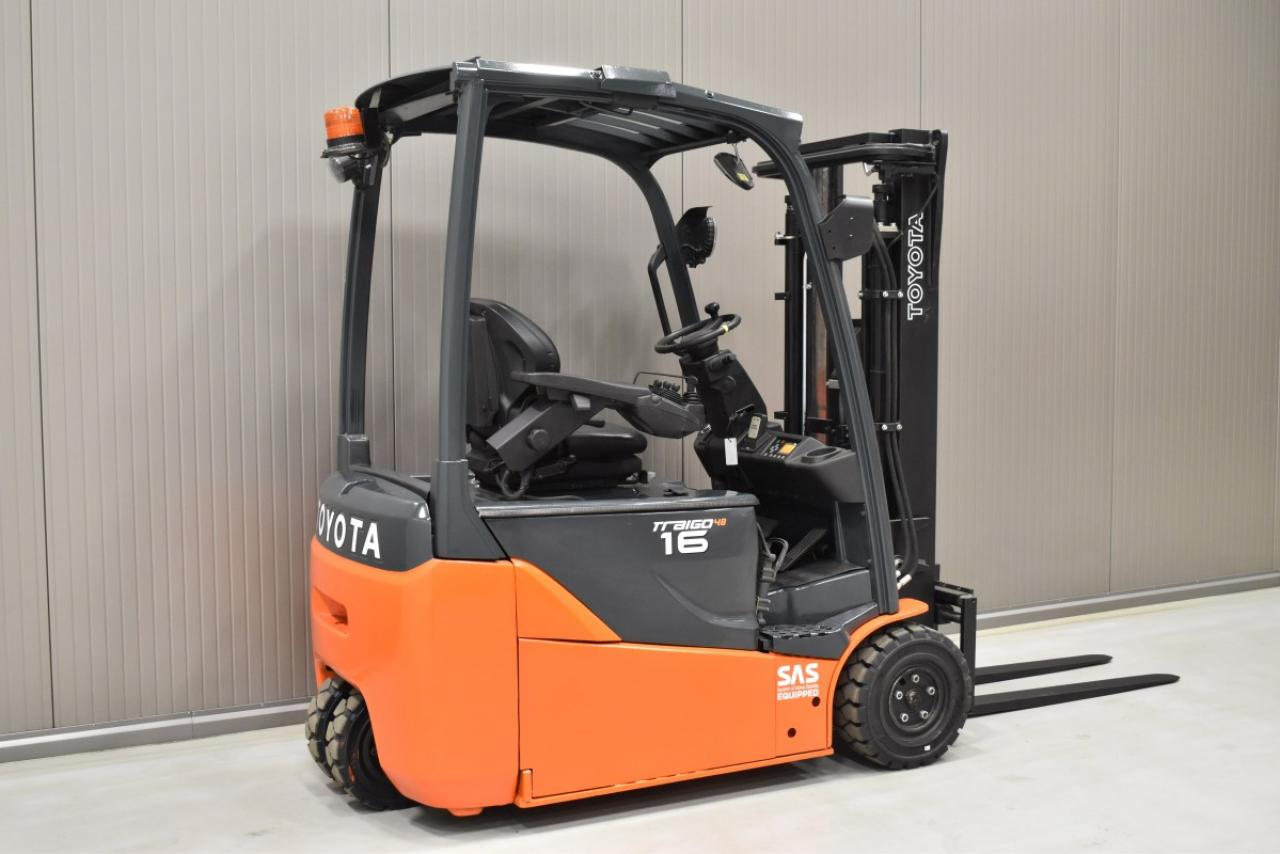 31899 TOYOTA 8FBE16T - Battery, 2016, SS, Free lift