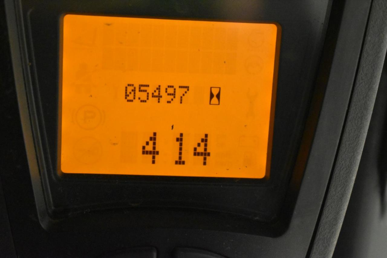 31909 LINDE E 16 PH-01 - AKU, 2014, polokabina, BP, Volný zdvih, Triplex, pouze 5481 mth,  ZADÁNO