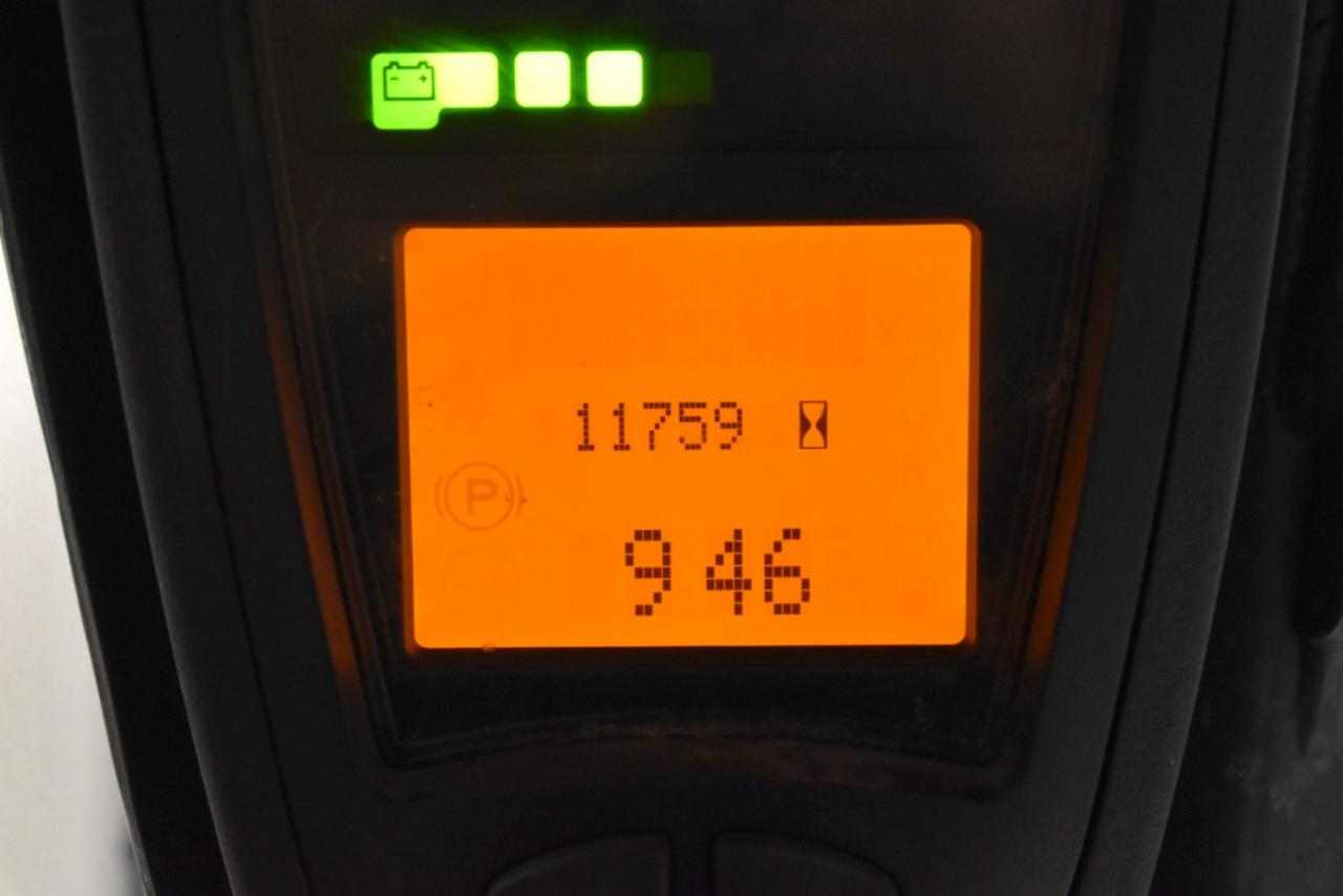 31966 LINDE E 16 PH-02 - AKU, 2016, BP, volný zdvih, Triplex