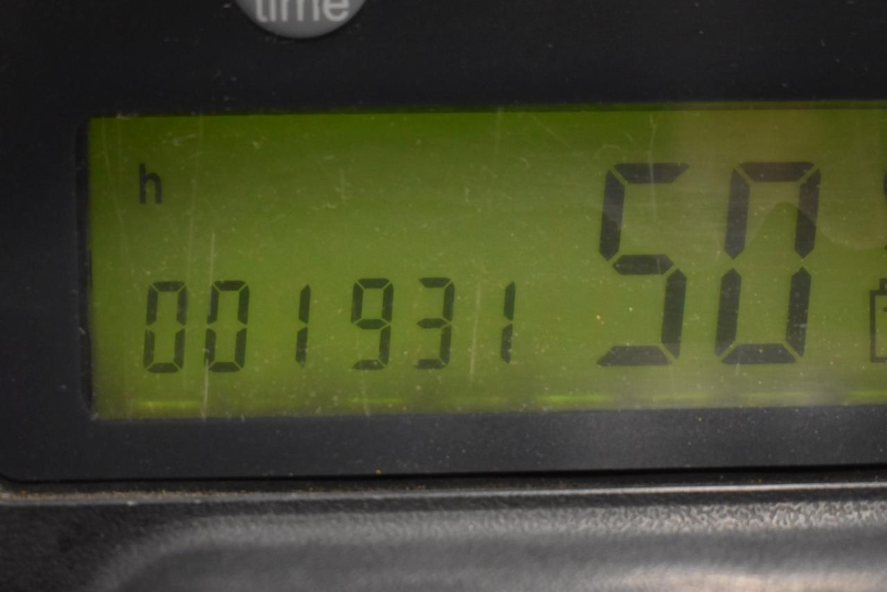 32048 JUNGHEINRICH EFG 425 K - AKU, 2010, polokabina, BP, volný zdvih, Triplex, pouze 1931 mth