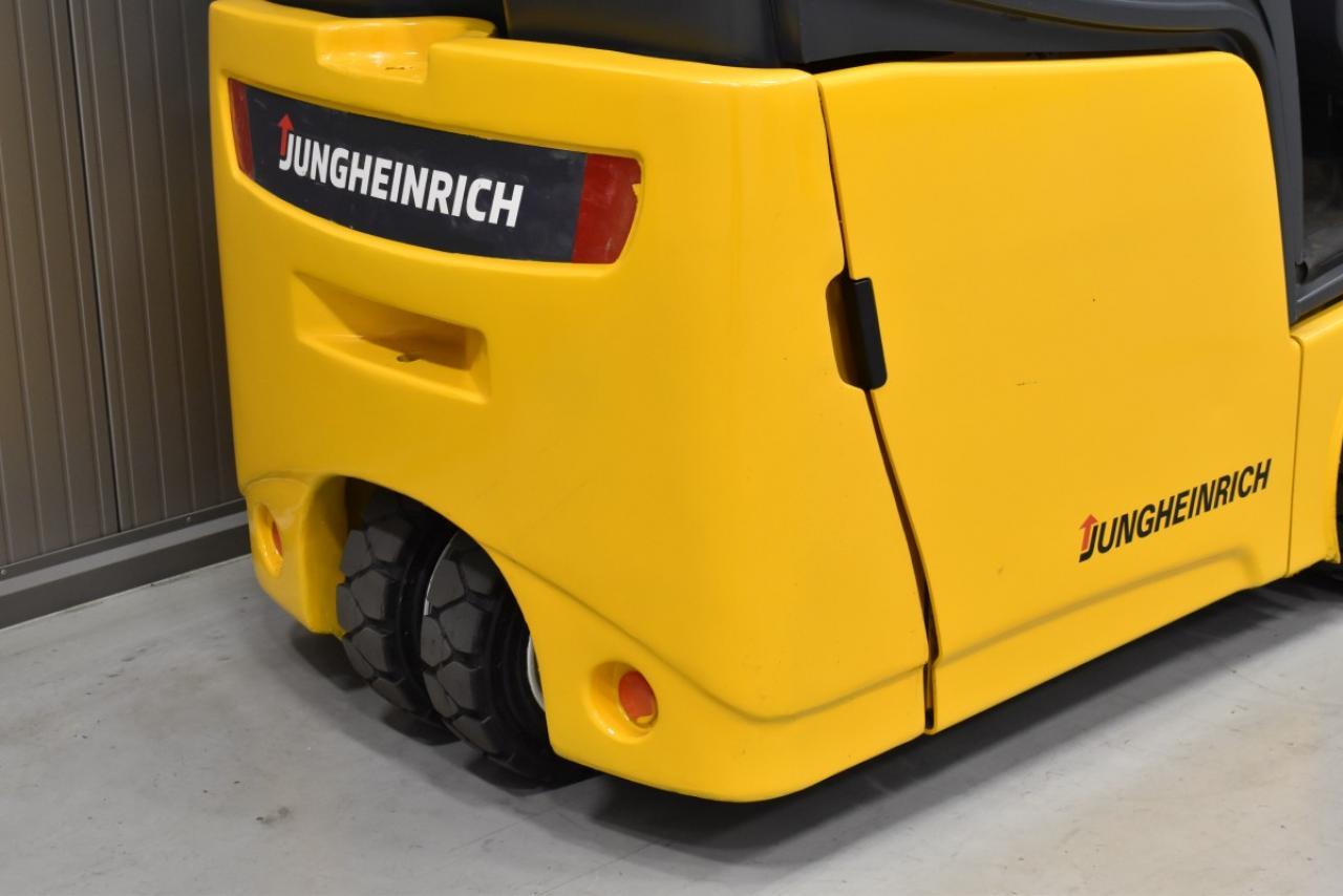 32162 JUNGHEINRICH EFG 213 - Battery, 2012, semi-cabin, SS, free lift, only 4521 hrs, BATT 2017