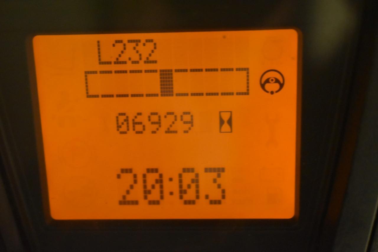 32208 LINDE E 16 C-01 - AKU, 2011, BP, volný zdvih, Triplex, pouze 6923 mth