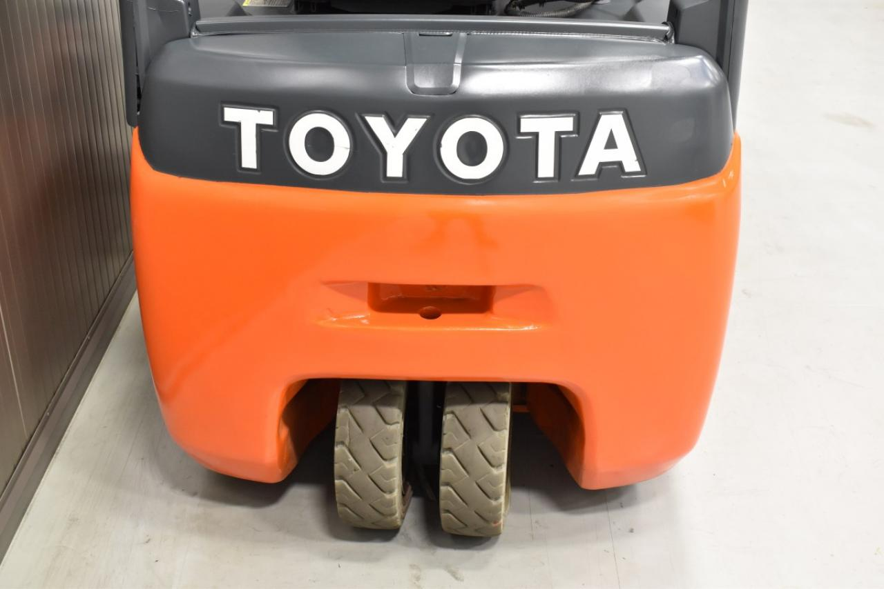 32219 TOYOTA 8FBET16 - Battery, 2015, SS, Free lift