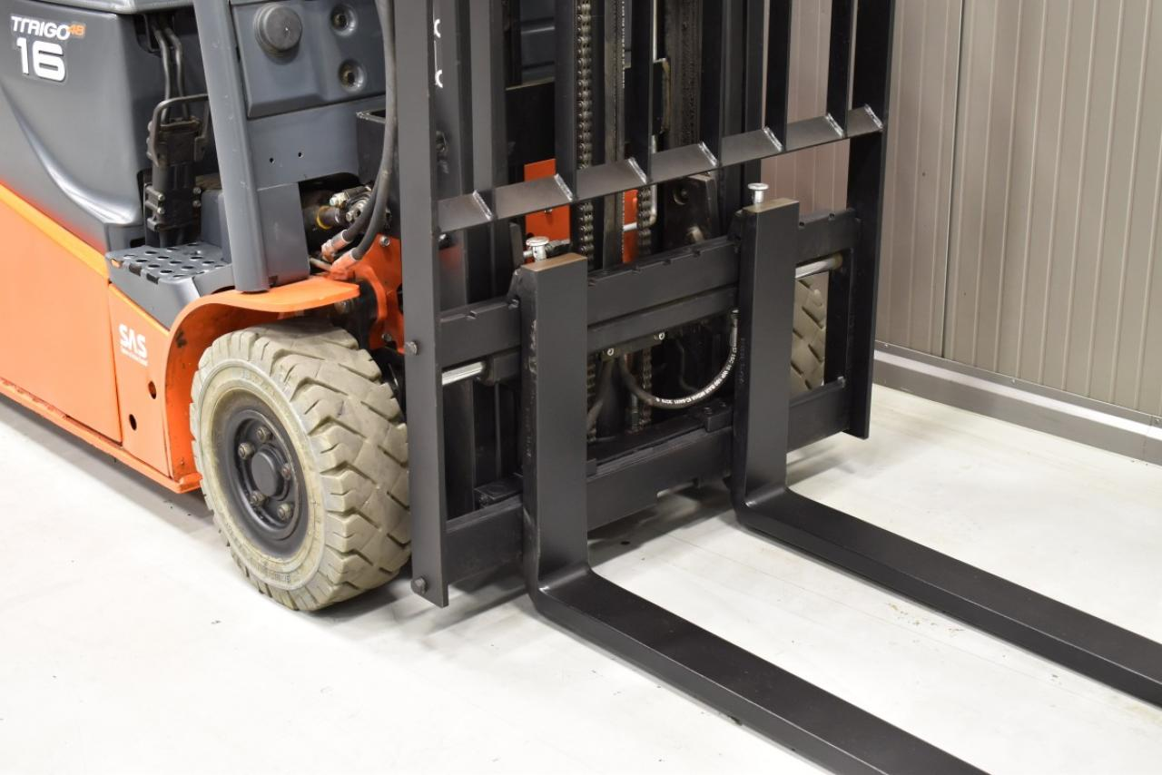 32220 TOYOTA 8FBE16T - Battery, 2016, SS, Free lift