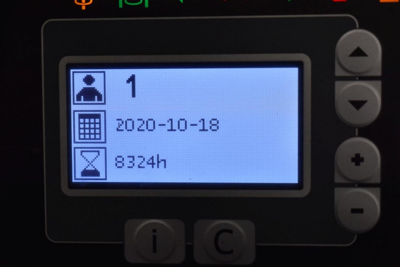 32242 BT RRE 160 - AKU, Retrak, 2014, Volný zdvih, Triplex
