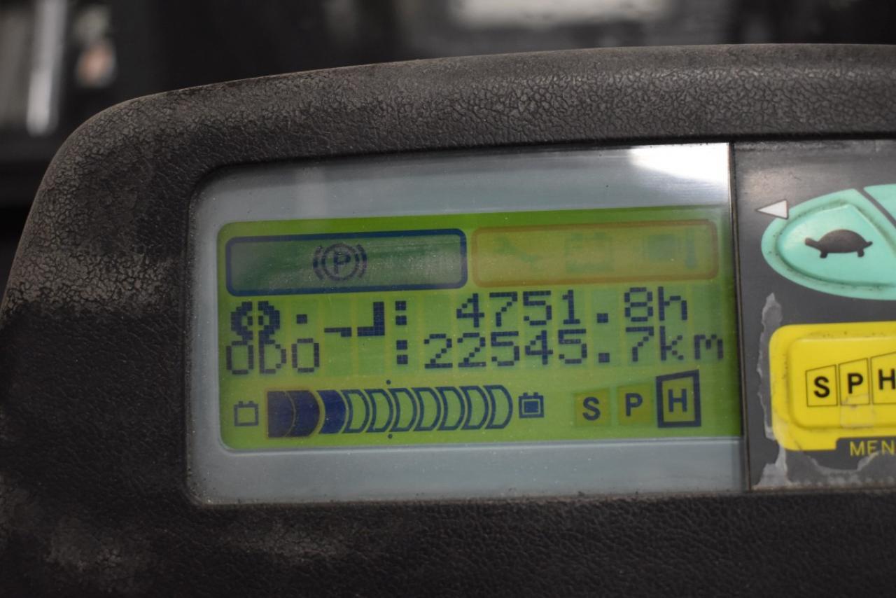 32283 TOYOTA 7FBMF40 - AKU, 2012, BP, pouze 4749 mth