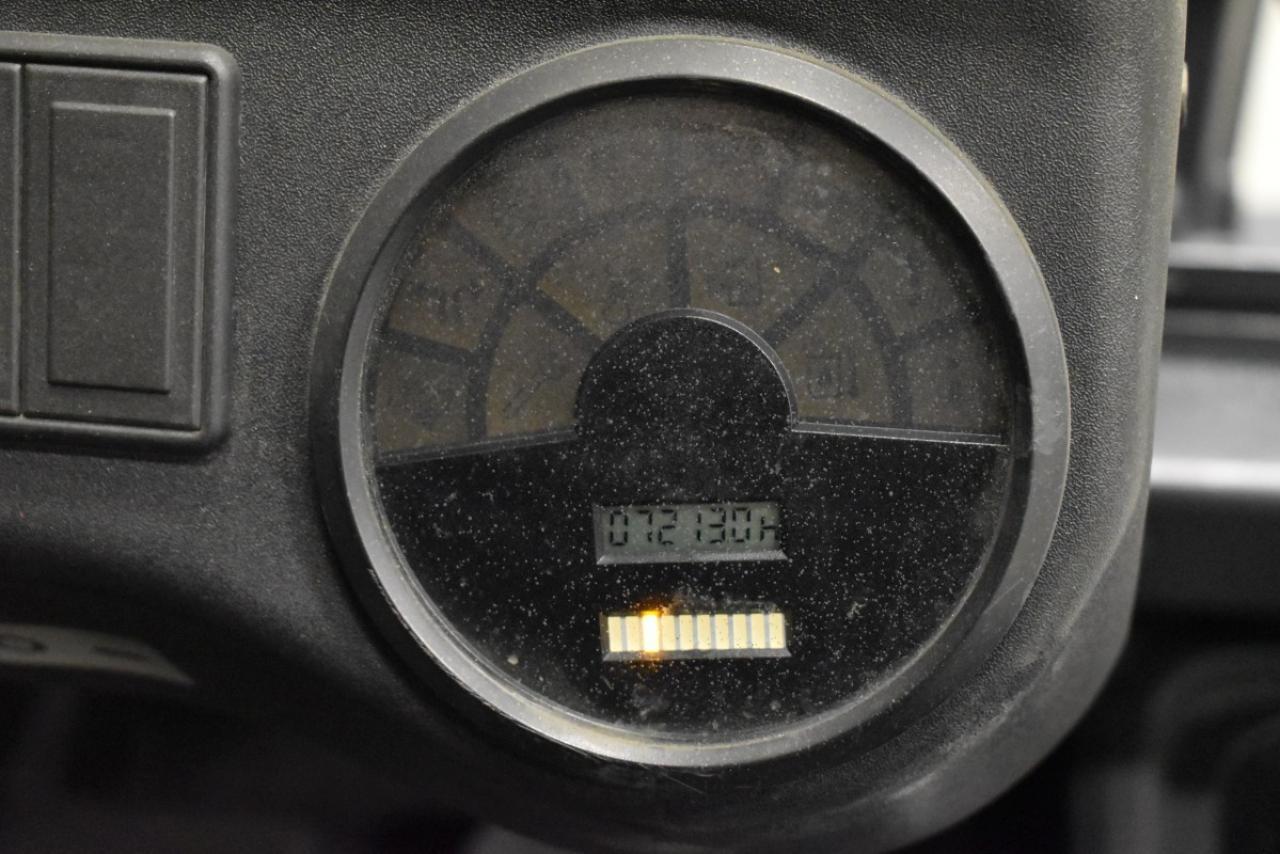 32448 LINDE E 25-02 - AKU, 2010, BP, volný zdvih, Triplex