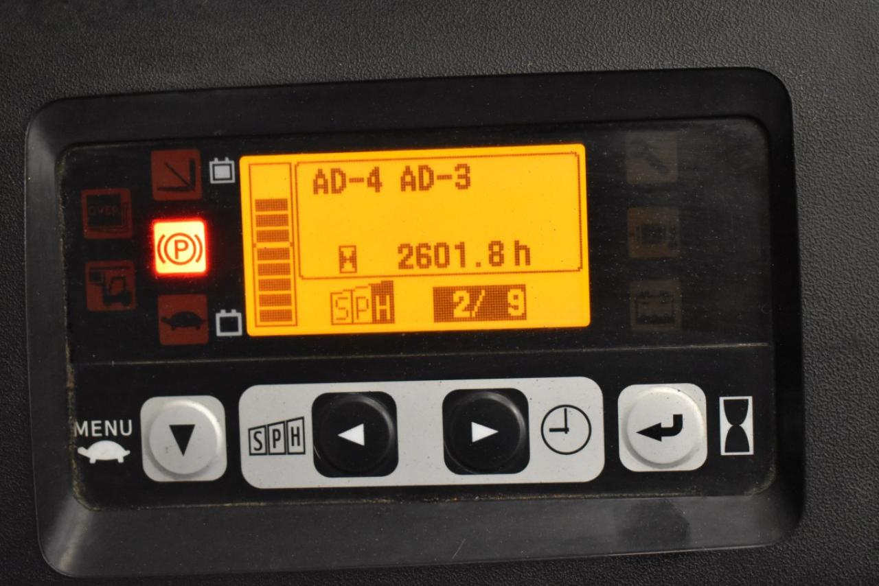 32456 TOYOTA 8FBMT20 - AKU, 2012, BP, volný zdvih, Triplex, pouze 2600 mth
