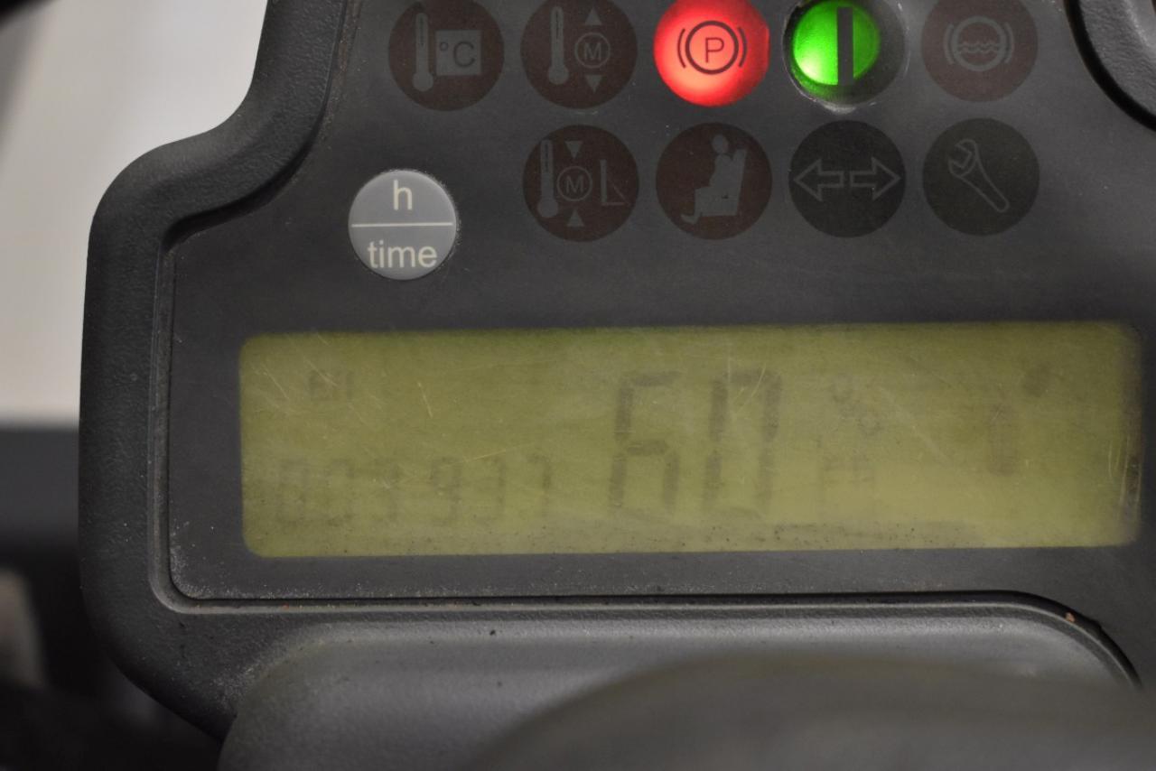 32661 JUNGHEINRICH EFG 218 - AKU, 2008, BP, volný zdvih, Triplex, pouze 3936 mth