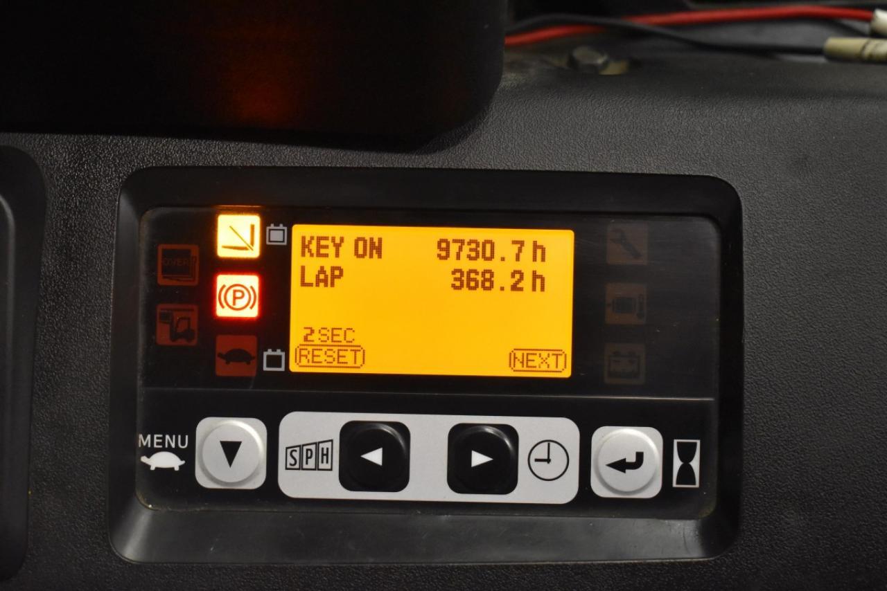 32694 TOYOTA 8FBET15 - AKU, 2012, polokabina, BP, pouze 5896 mth, BAT 2016