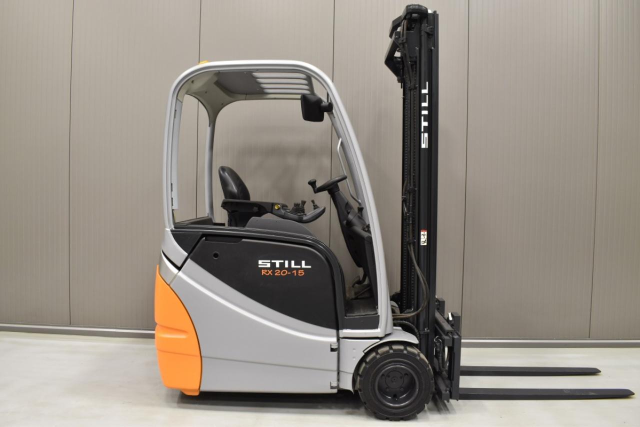 32744 STILL RX 20-15 - Battery, 2012, SS, Free lift, TRIPLEX