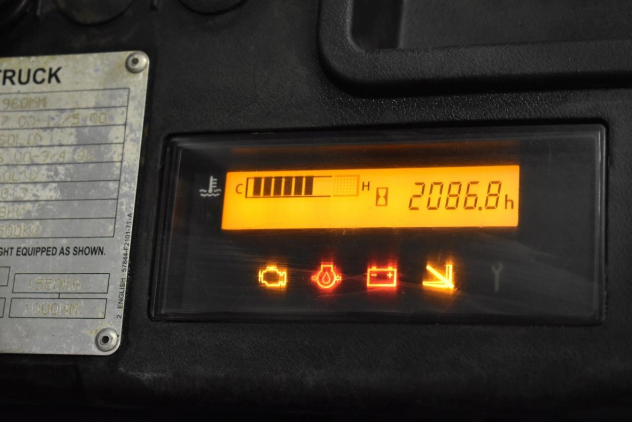 32751 TOYOTA 02-8FGF25 - LPG, 2013, polokabina, BP, pouze 2086 mth