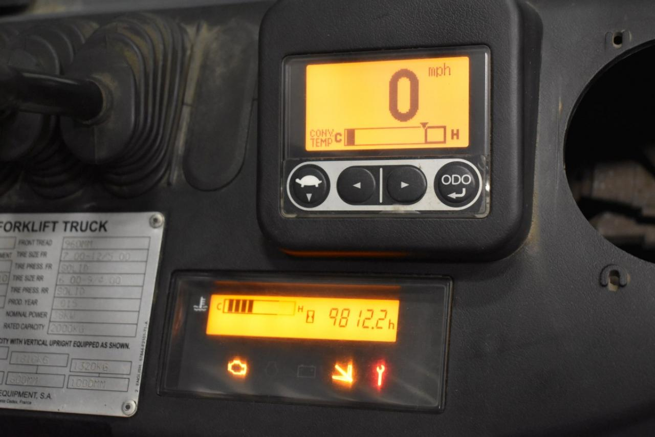 32763 TOYOTA 02-8FGF20 - LPG, 2015, polokabina, BP, volný zdvih