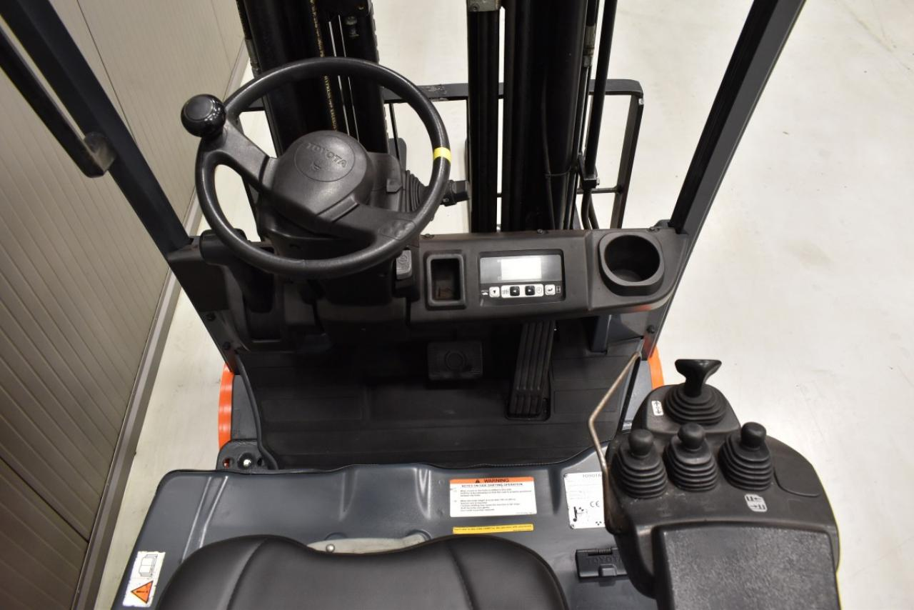 32771 TOYOTA 8FBET16 - Battery, 2014, SS, Free lift, TRIPLEX