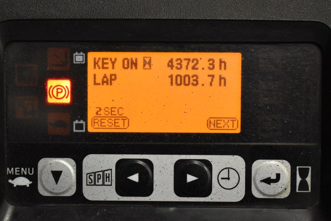 32772 TOYOTA 8FBET16 - AKU, 2014, BP, Volný zdvih, pouze 2801 mth