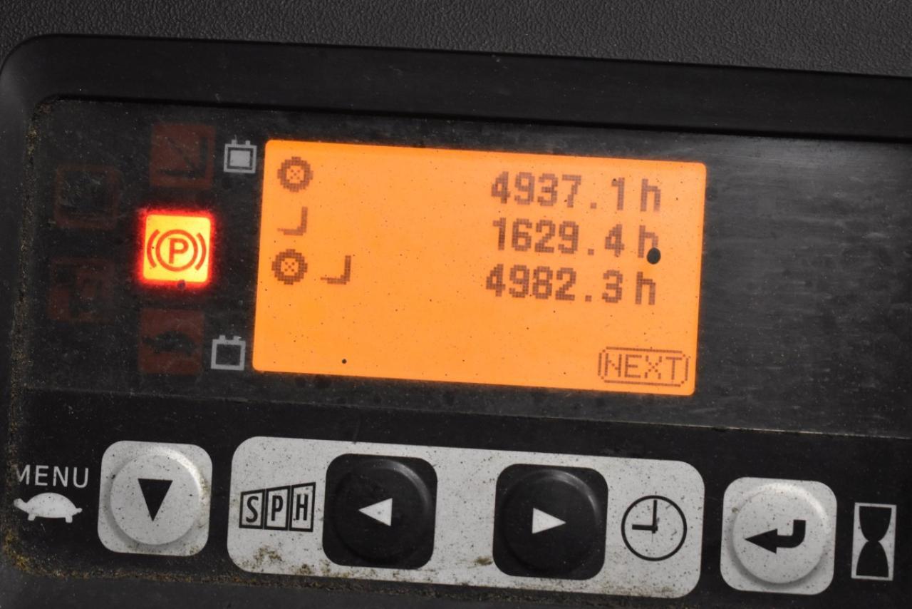 32774 TOYOTA 8FBET16 - AKU, 2014, BP, volný zdvih, Triplex, pouze 4981 mth