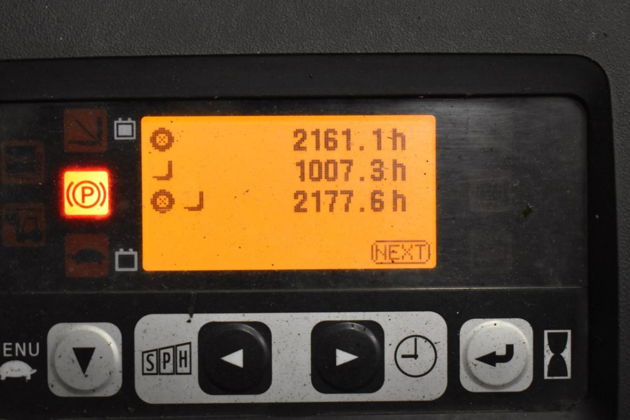 32780 TOYOTA 8FBET15 - AKU, 2012, BP, volný zdvih, pouze 2177 mth