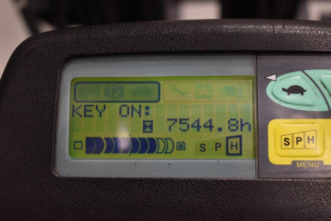 32782 TOYOTA 7FBMF16 - AKU, 2011, BP, Volný zdvih, Triplex