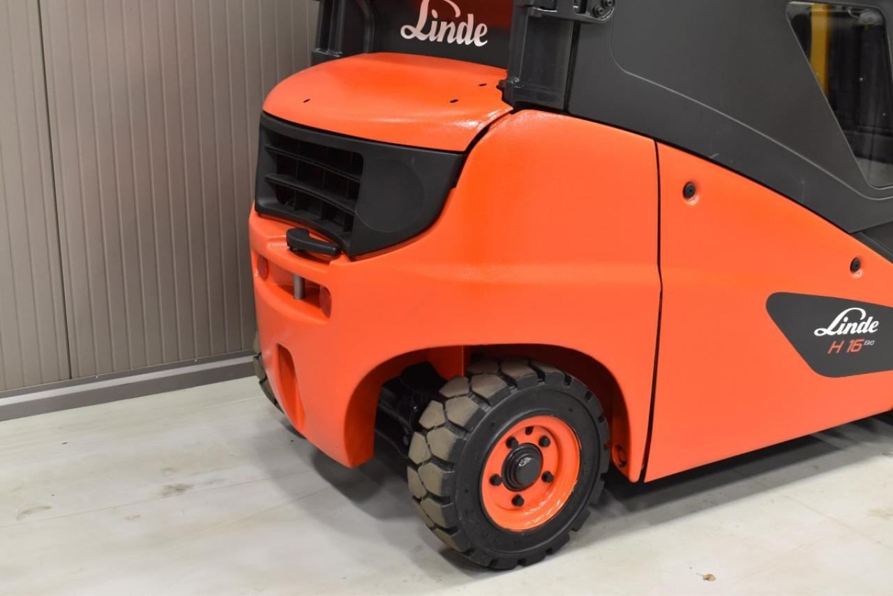32811 LINDE H 16 D-01 - Diesel, 2010, Kabina, BP, Volný zdvih