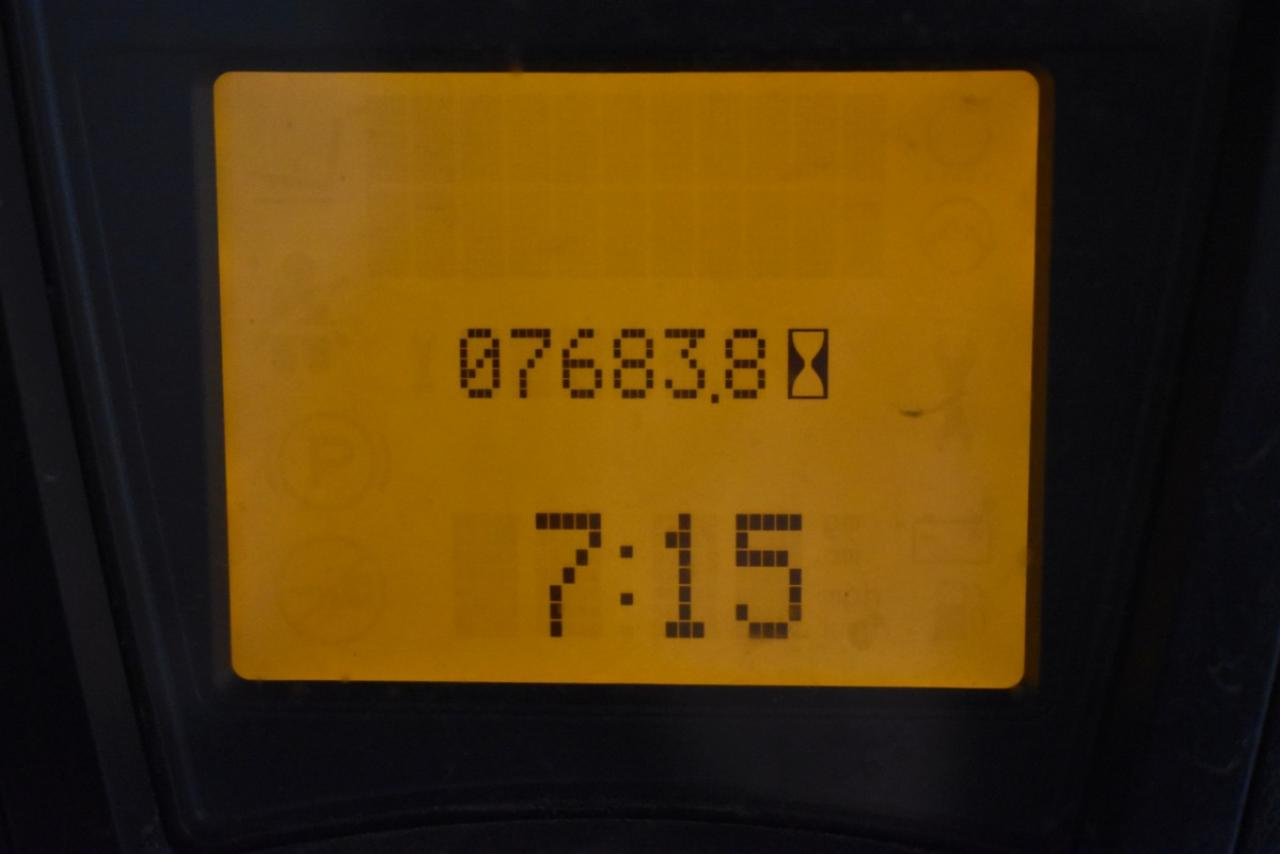 32921 LINDE H 16 T-01 - LPG, 2013, polokabina, BP+HSV, volný zdvih, Triplex