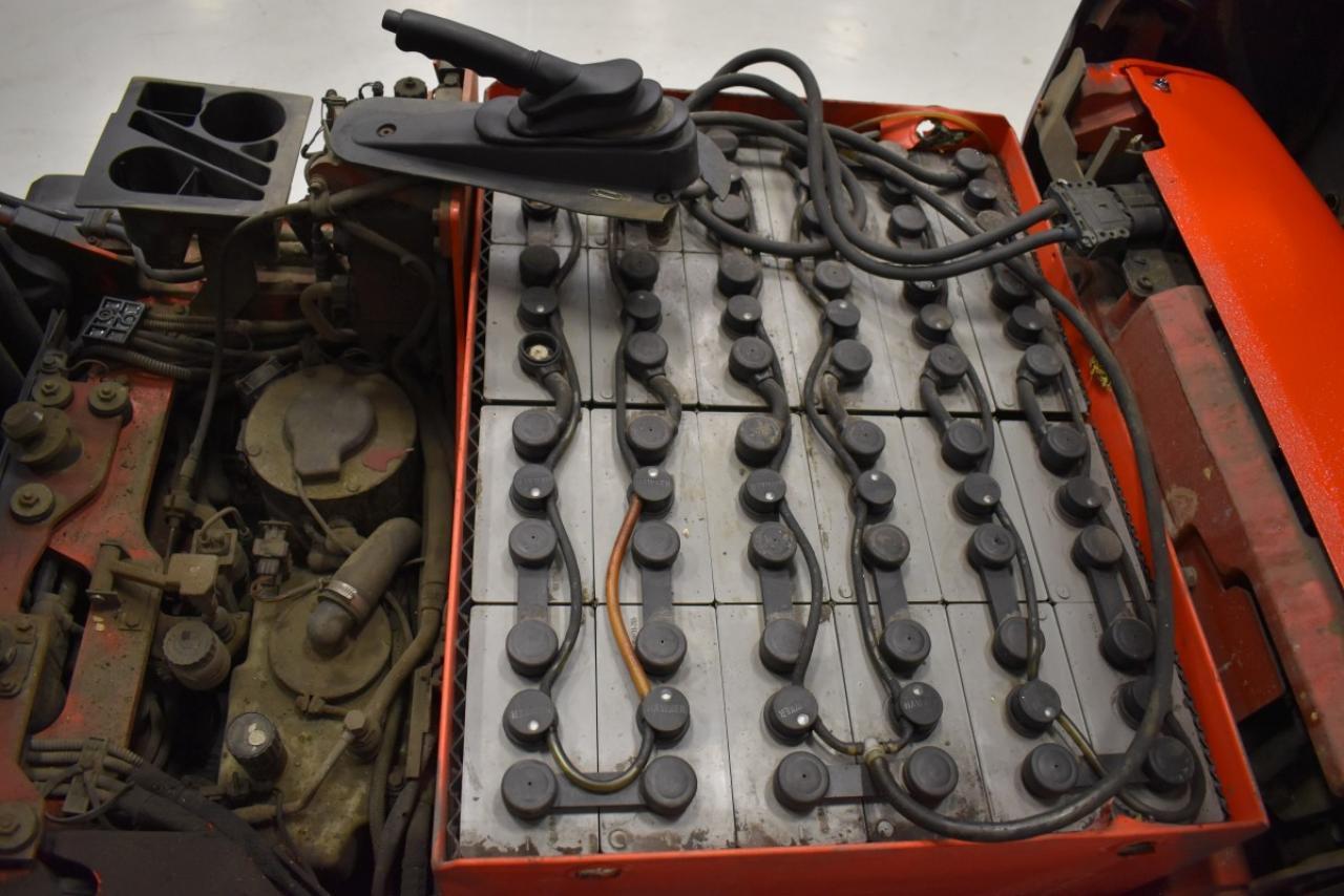32965 LINDE E 16 C-02 - AKU, 2006, BP, volný zdvih, Triplex, BAT 2011