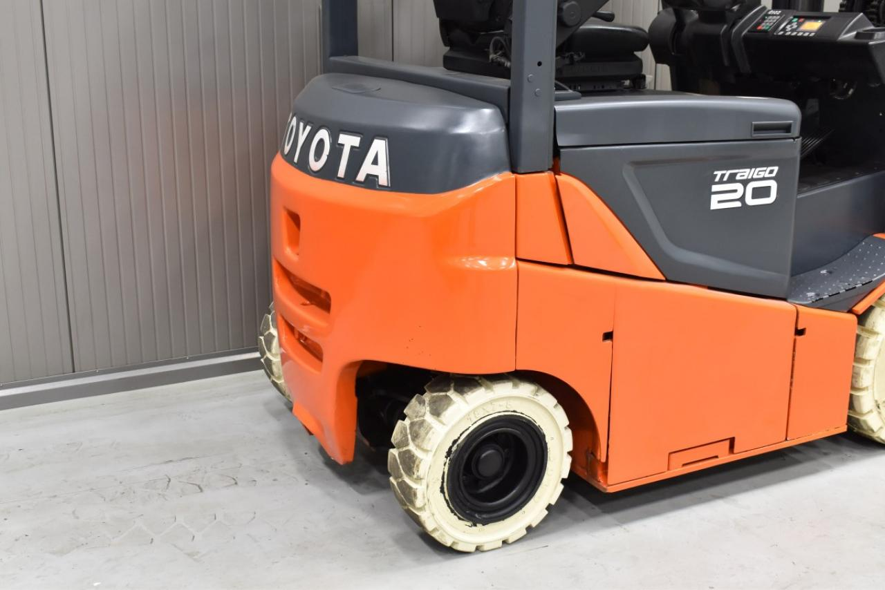 33087 TOYOTA 8FBMKT20 - Battery, 2014, SS, Free lift,  RESERVE