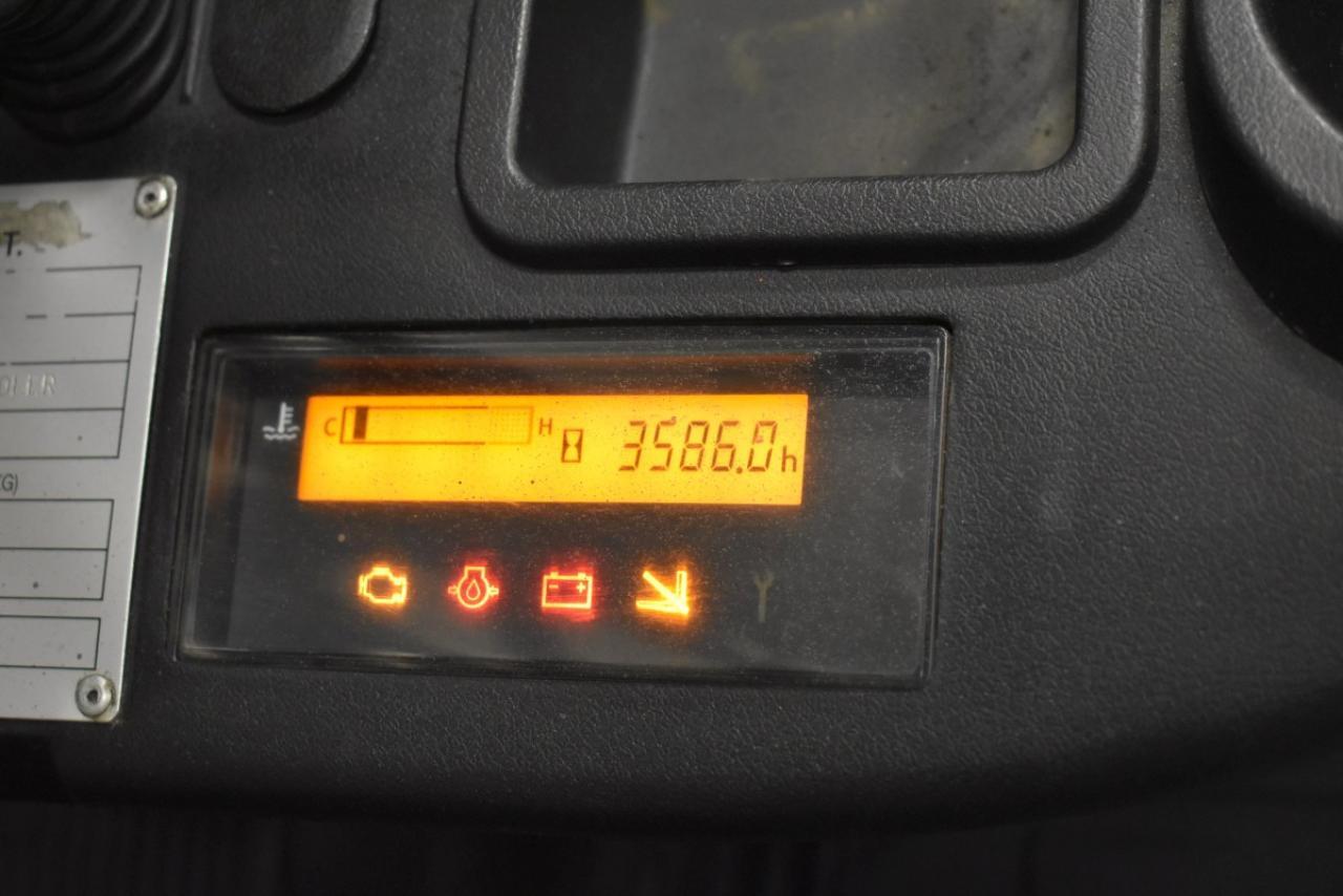 33091 TOYOTA 02-8FGKF20 - LPG, 2013, Volný zdvih, pouze 3585 mth