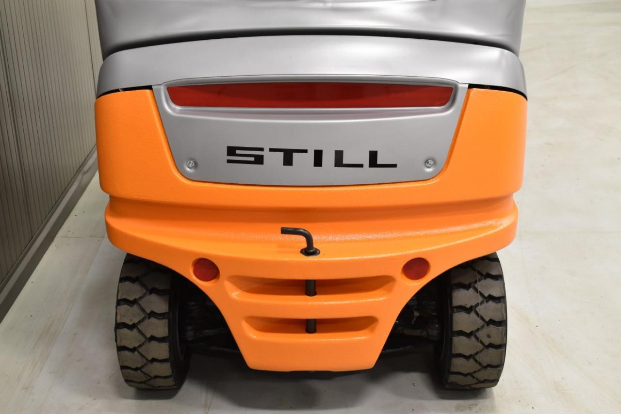 33123 STILL RX 20-16 P - Battery, 2015, Cabin, SS+FP, only 1843 hrs