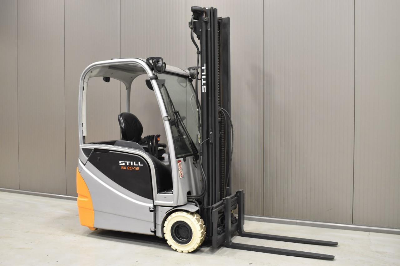 33136 STILL RX 20-16 - Battery, 2013, SS, Free lift, TRIPLEX, BATT 2017