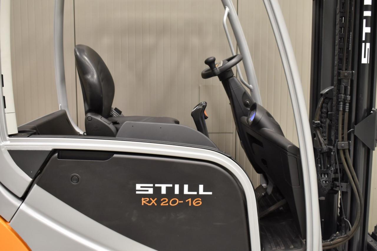 33202 STILL RX 20-16 - Battery, 2015, SS, Free lift