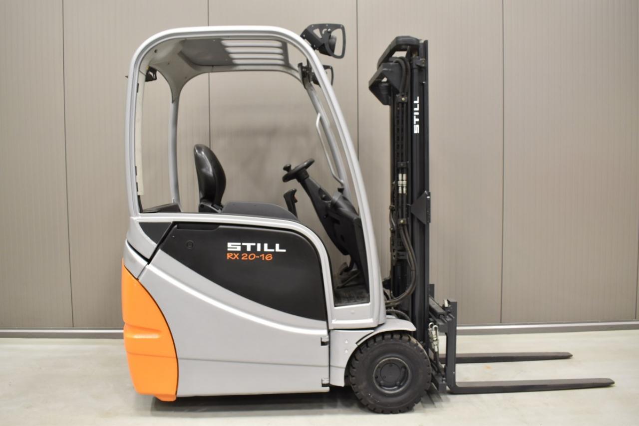 33203 STILL RX 20-16 - Battery, 2015, SS, Free lift,  RESERVE