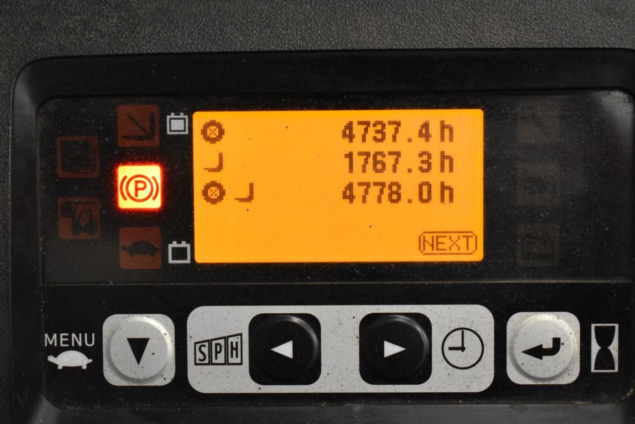 33331 TOYOTA 8FBET15 - AKU, 2015, BP, volný zdvih, Triplex, pouze 4777 mth