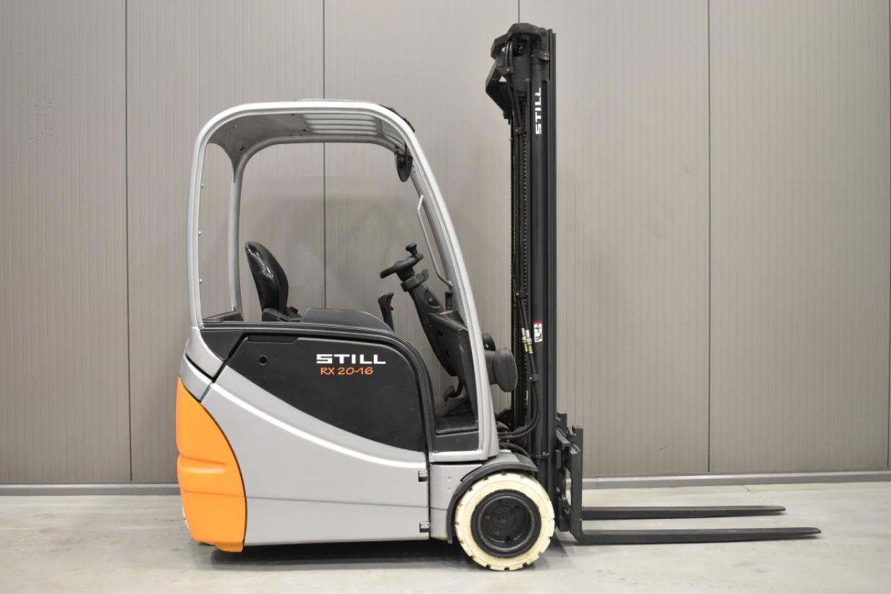33367 STILL RX 20-16 - Battery, 2009, SS, Free lift, TRIPLEX