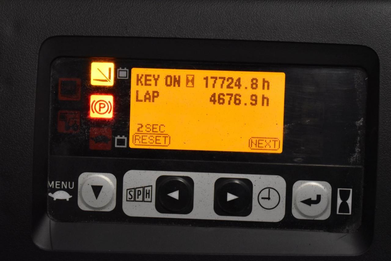 33382 TOYOTA 8FBMT20 - AKU, 2013, BP, Volný zdvih, Triplex