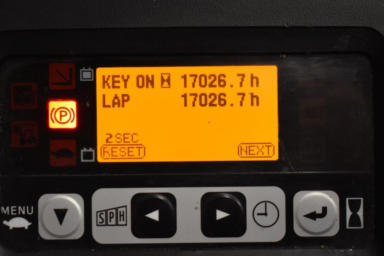 33383 TOYOTA 8FBMT20 - AKU, 2013, BP, Volný zdvih, Triplex