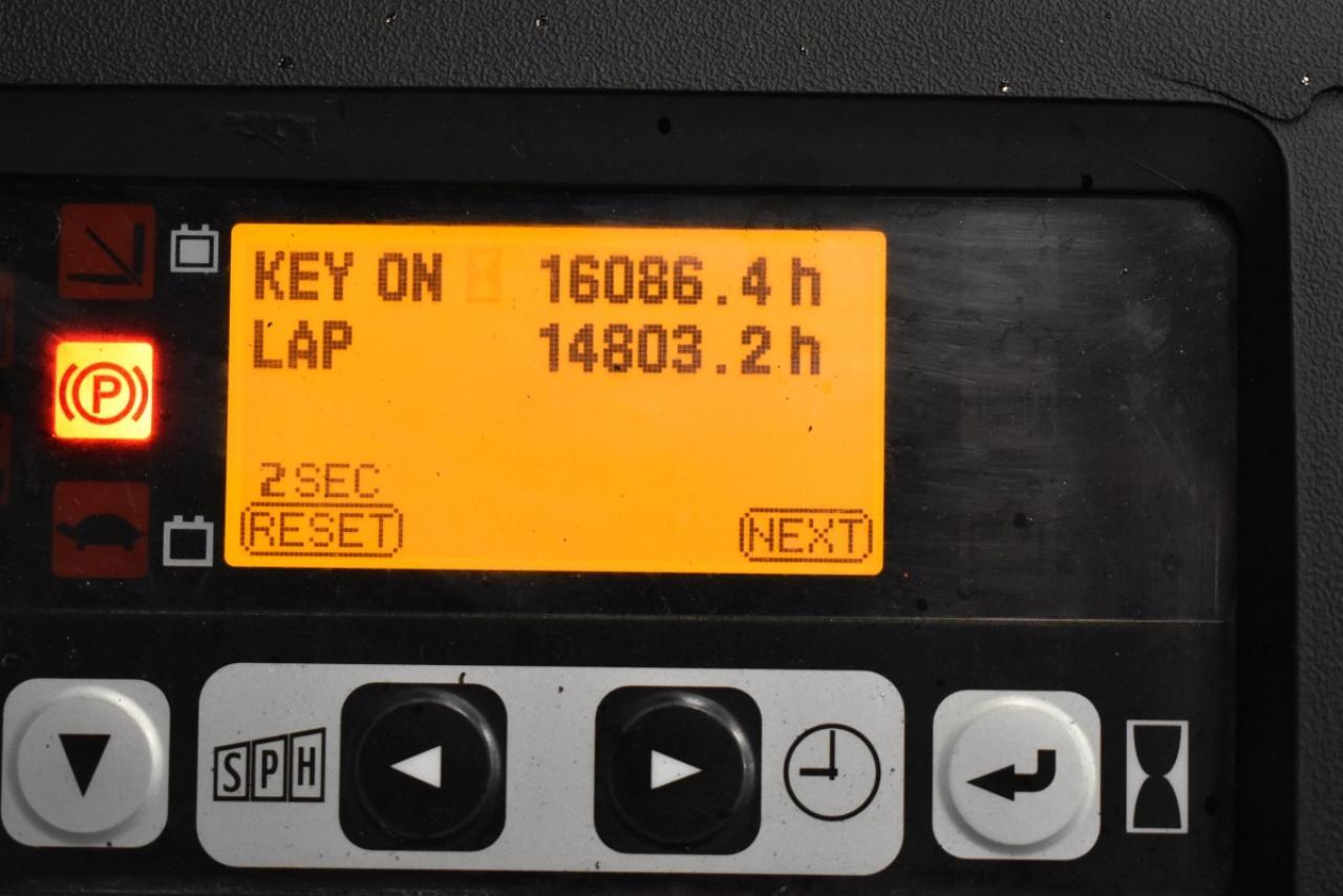 33384 TOYOTA 8FBMT20 - Battery, 2013, SS, Free lift, TRIPLEX