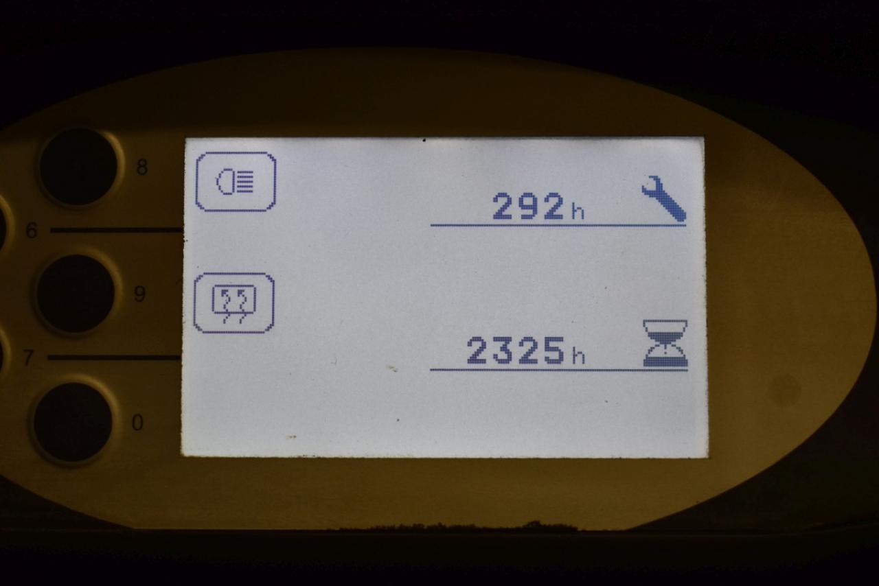 33402 STILL RX 60-20 - AKU, 2015, Kabina, BP, Volný zdvih, Triplex, pouze 2325 mth