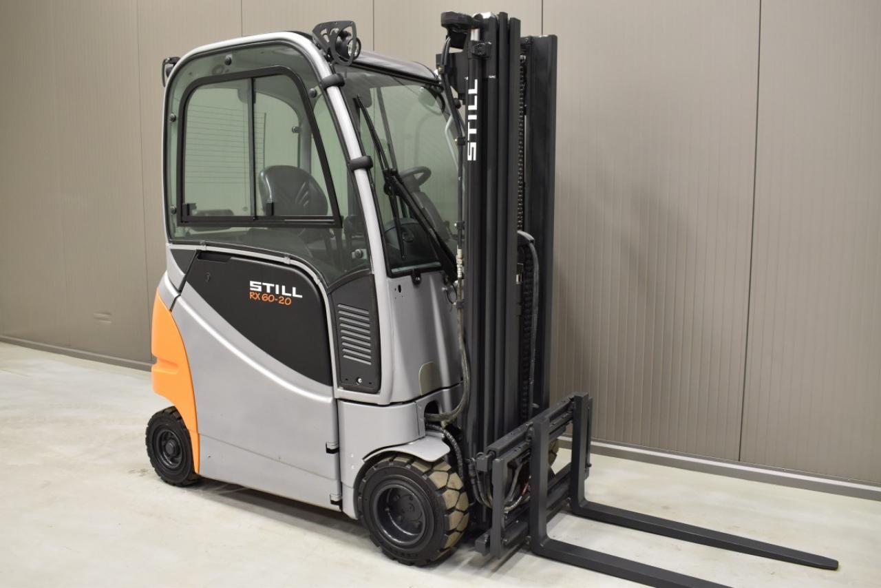 33407 STILL RX 60-20 - Battery, 2015, Cabin, SS, Free lift, TRIPLEX, only 3062 hrs
