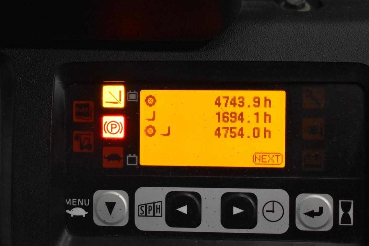 33523 TOYOTA 8FBMT16 - AKU, 2009, Kabina, BP, pouze 4753 mth