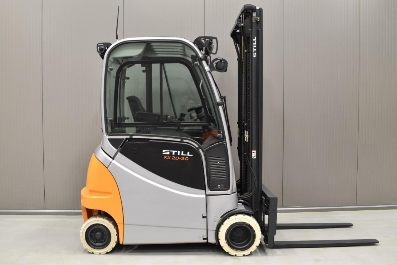 33563 STILL RX 20-20 PH - Battery, 2014, Cabin, SS+FP, Free lift, TRIPLEX