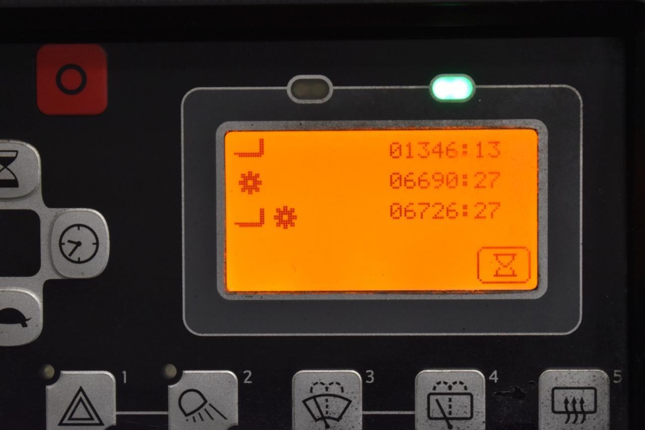 33620 TOYOTA 8FBEKT18 - AKU, 2016, BP, Volný zdvih, pouze 6725 mth