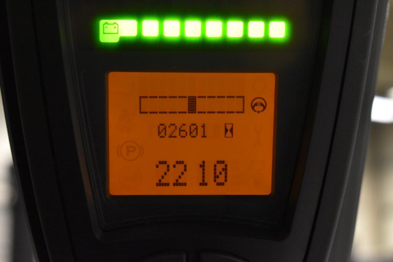 33759 LINDE E 25-01 - AKU, 2011, BP, Volný zdvih, Triplex, pouze 2597 mth